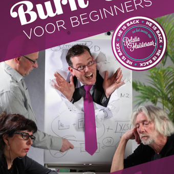 Poster Burn-out voor beginners